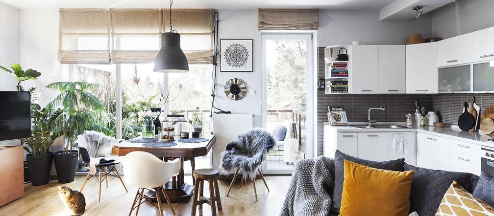 Praca w domu aranżacje Ładny Dom