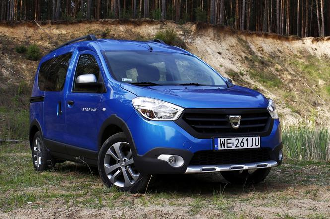 test dacia dokker stepway 1 5 dci sprytny przebieraniec. Black Bedroom Furniture Sets. Home Design Ideas