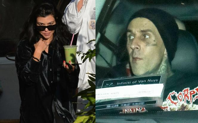Kourtney Kardashian i Travis Barker z Blink-182