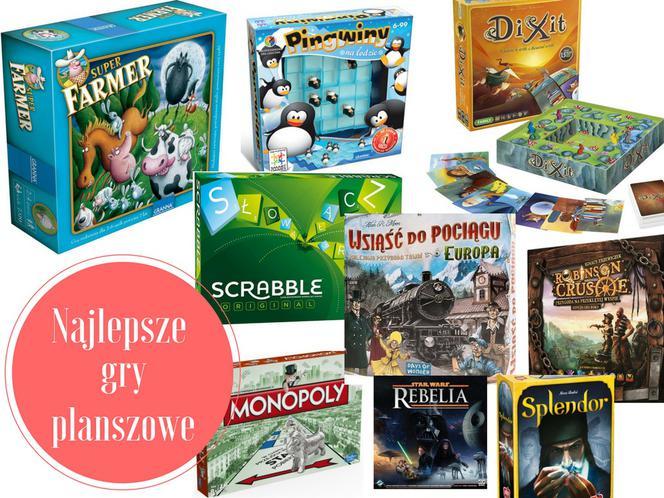 Inne rodzaje Najlepsze gry planszowe - 21 fajnych gier planszowych nie tylko LU74