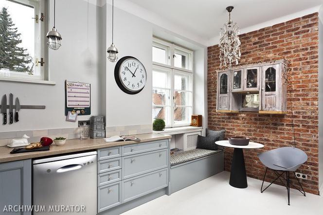 Cegła W Kuchni 10 Pomysłów Na Wykończenie ściany W Kuchni