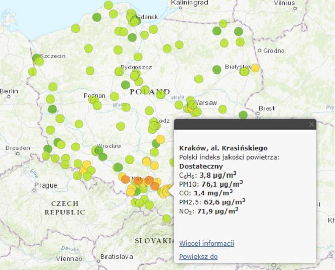 Smog W Polsce Mapa Miast W Ktorych Nie Da Sie Oddychac Eska Pl