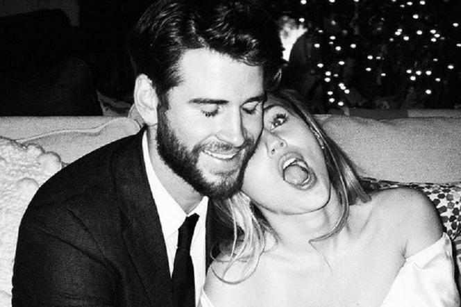 Miley Cyrus i Liam Hemsworth - ślub