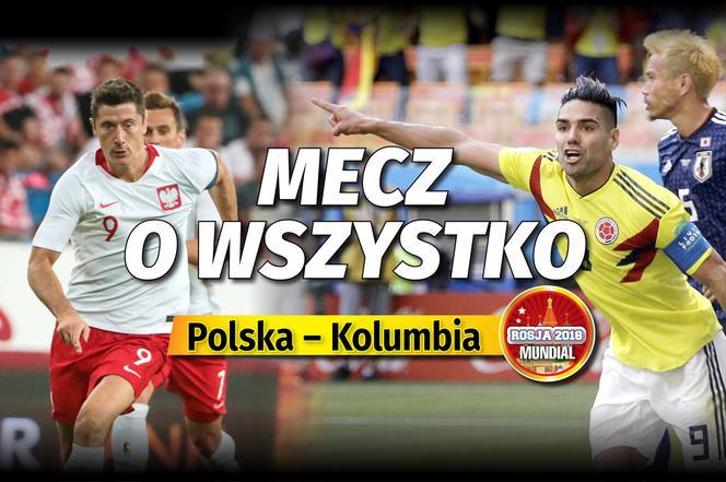 mecz polska kolumbia