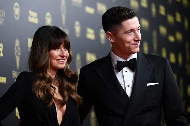 Lewandowscy podczas Ballon d'Or w Paryżu