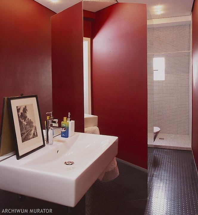 Aranżacja Czerwonej łazienki Inspiracje I Zdjęcia