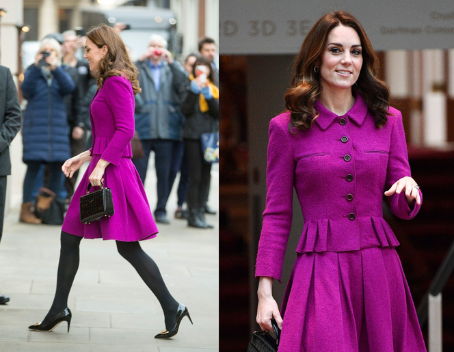 Księżna Kate Middleton w Royal Opera House