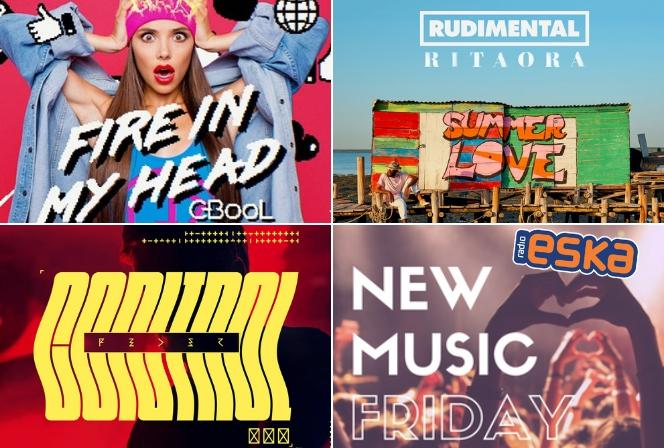Muzyka 2018 C-BooL, Rudimental i inne HITY w New Music Friday w Radiu ESKA!
