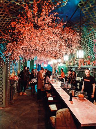 Cherry Blossom Bar