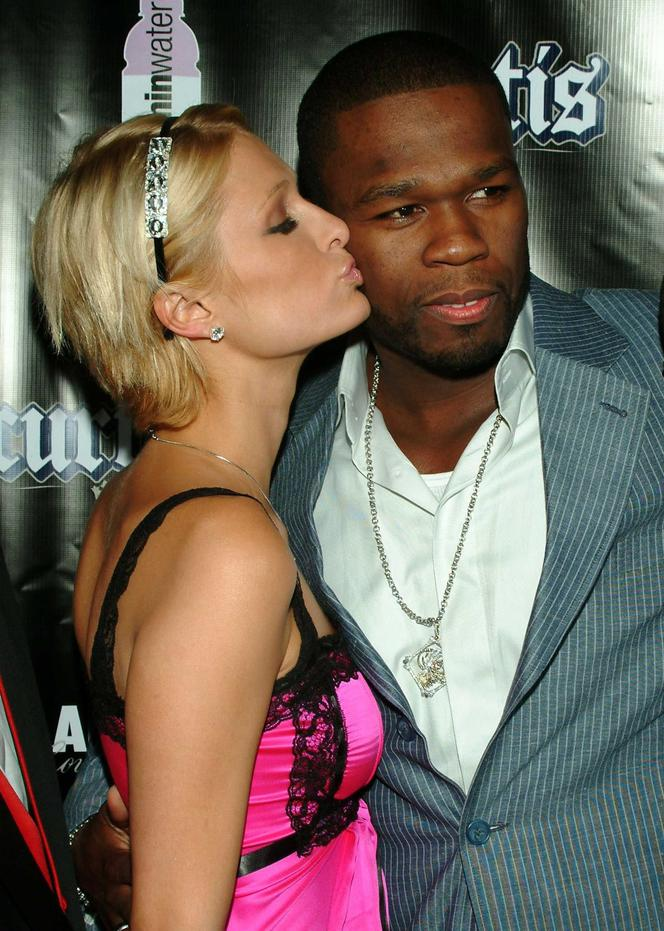 Paris Hilton i 50 Cent