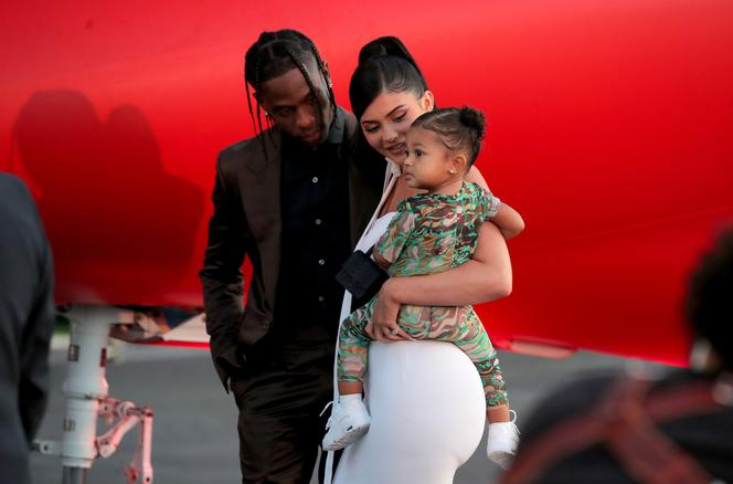 Kylie Jenner, Stormi Webster, Travis Scott