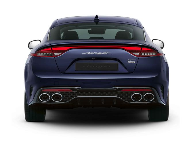 (2021) Kia Stinger po facelitingu