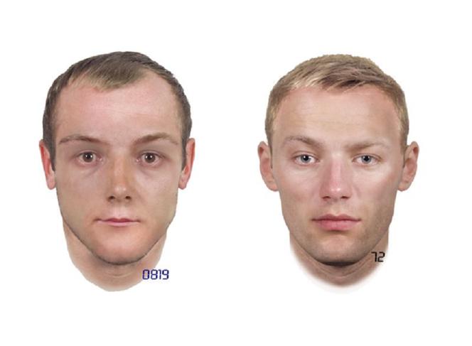 24b08ab09bc823 Portrety przedstawiają jedną osobę. Różnice w wyglądzie wynikają z różnych  relacji świadków Autor: Komenda Wojewódzka Policji ...