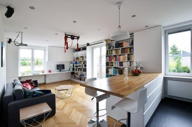 Otwarty Salon Niesamowita Metamorfoza Mieszkania W Bloku