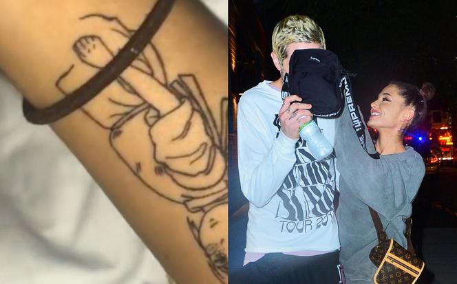 Ariana Grande Ma Nowy Tatuaż Ze Wzorem Anime Jest Wielki