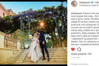 Suknia ślubna Dody Ile Kosztowała Zdjęcia Super Express