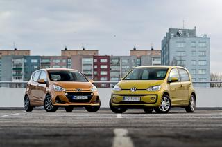 TEST Hyundai i10 1.2 MPI Style vs. Volkswagen up! 1.0 MPI high up! - mały kontra mały
