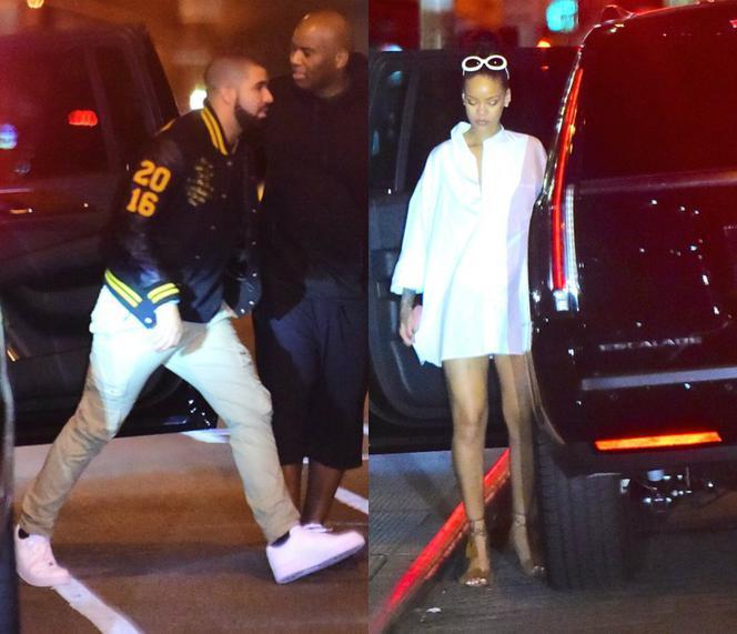 Riri randka Drake