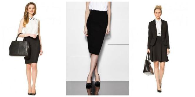 Czarna spódnica na maturę w Spódnice i spódniczki Moda