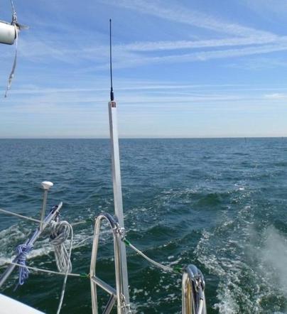 Podłączenie radia morskiego