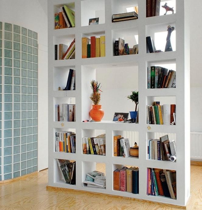 Oryginalny Regał Na Książki Galeria Nietypowych Projektów