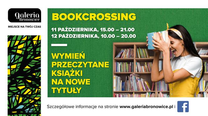 Bookcrossing w Galerii Bronowice