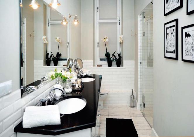 Metamorfoza łazienki Modne Wnętrze W Stylu Retro W Miejscu