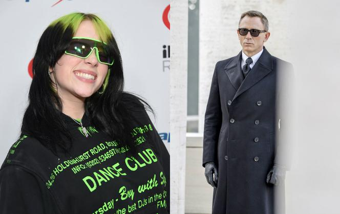 Billie Eilish, Daniel Craig