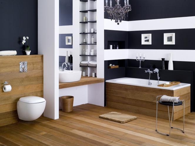 łazienka W Drewnie Teak Iroko A Może Fornir Muratorpl