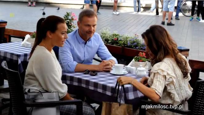 M for love, Anka (Weronika Rosati), Andrzej Budzyński (Krystian Wieczorek), Magda (Anna Mucha)