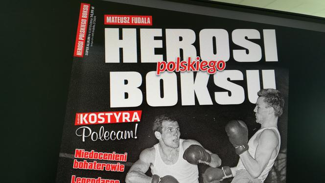 "c0384b8f3af62d Książka ""Herosi polskiego boksu"" – Super Album 4/2018 - Super Express"