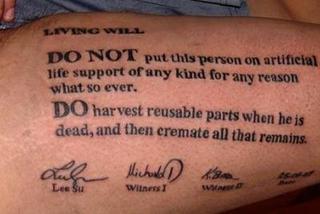 Tatuaż Może Uratować Ci życie Zdjęcia Super Express