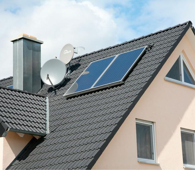 Cudowna Kolektory słoneczne do istniejącej instalacji grzewczej - murator.pl LE52