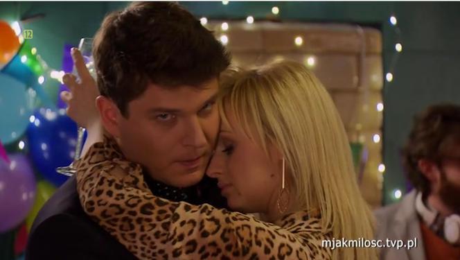 M love the love episode of 1439. Sonia (Barbara Vipich), Janek (Tomas Kollarik)