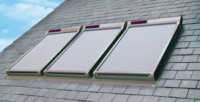 Rolety I Markizy Zewnętrzne Solarne Do Okien Dachowych