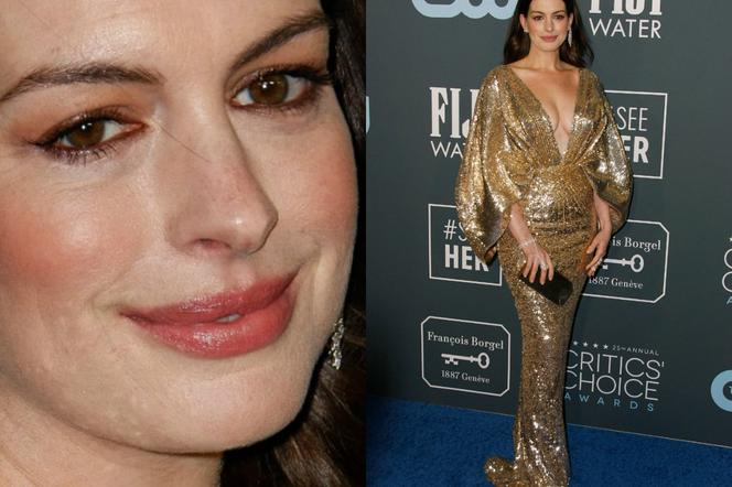 Anne Hathaway na gali Critics Choice Awards 2020