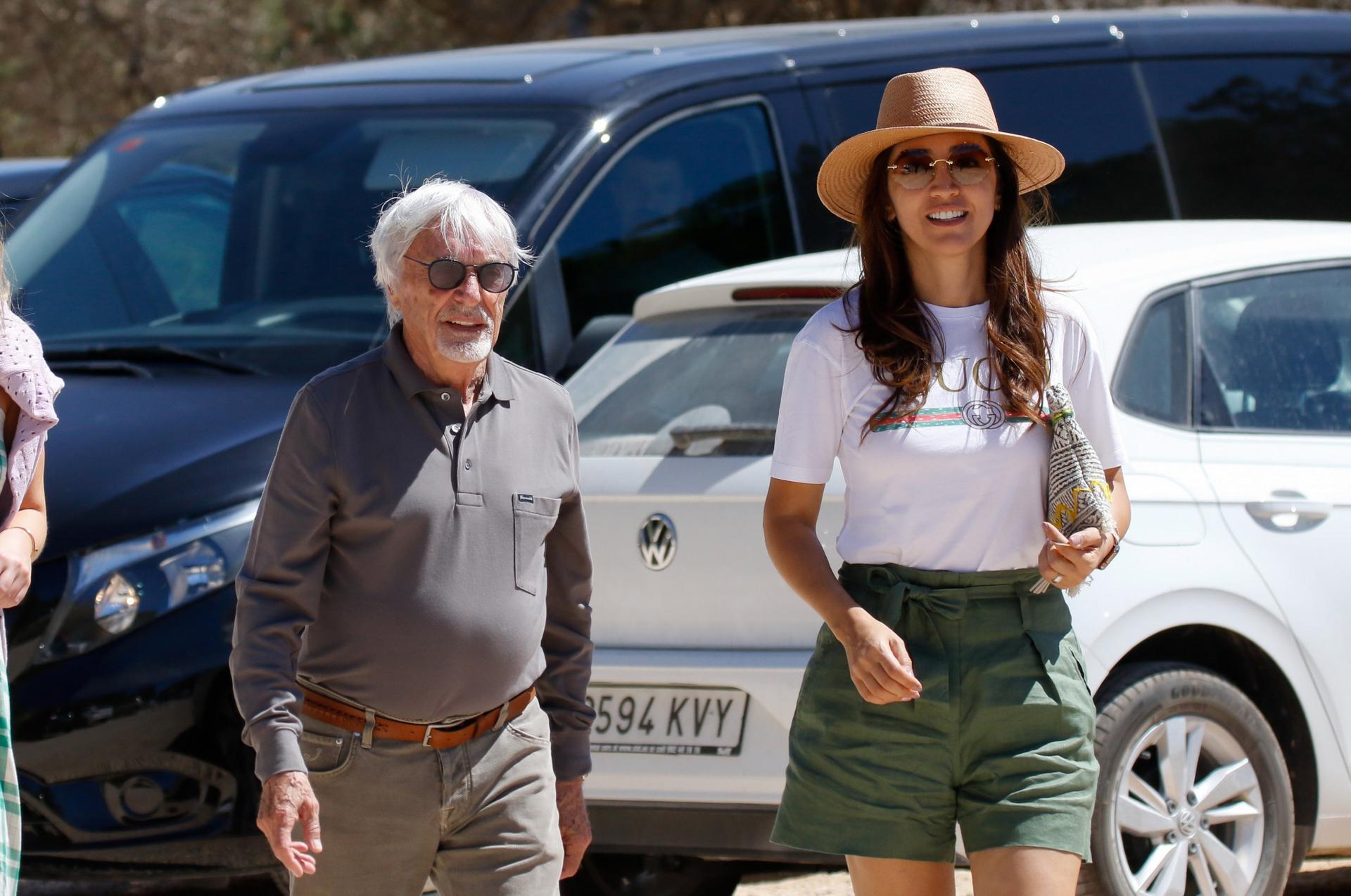 89-letni miliarder będzie OJCEM! Bernie Ecclestone i jego żona, Fabiana, ogłosili ciążę! - ESKA.pl