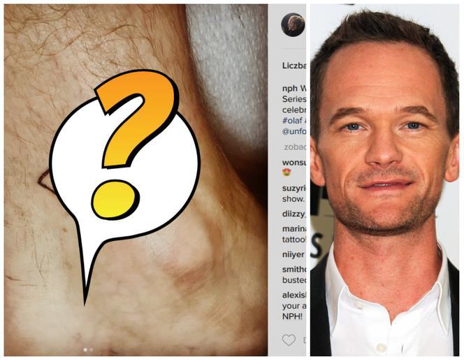 Neil Patrick Harris Zrobił Pierwszy Tatuaż Zainspirował