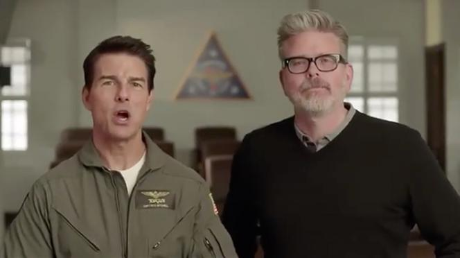 Tom Cruise i Christopher McQuarrie