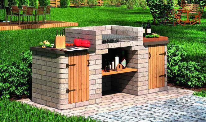 Chłodny Grill ogrodowy. Jak zbudować grill z cegieł lub kamienia w HQ35