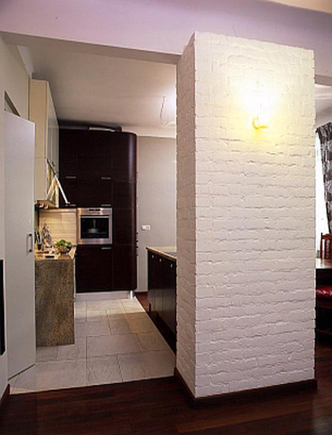 Kuchnia Otwarta Na Salon ścianka Barek Stół Jak