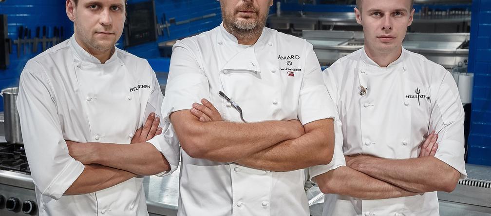 Hell S Kitchen 4 Uczestnicy To Nie Wszystko Sa Tez Nowi Zastepcy Szefa Amaro Sprawdz Kim Sa Eska Pl