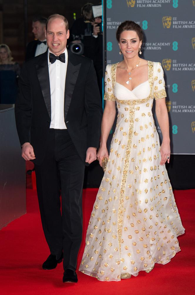 Księżna Kate i książę William na BAFTA Awards 2020