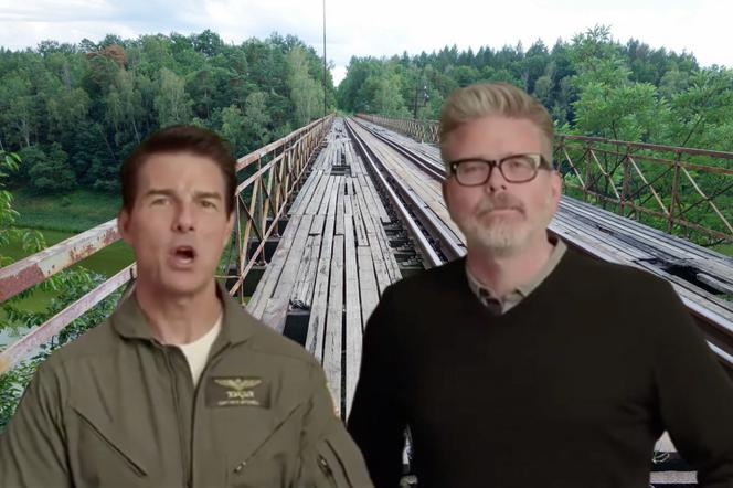 Tom Cruise, Christopher McQuarrie - most w Pilchowicach