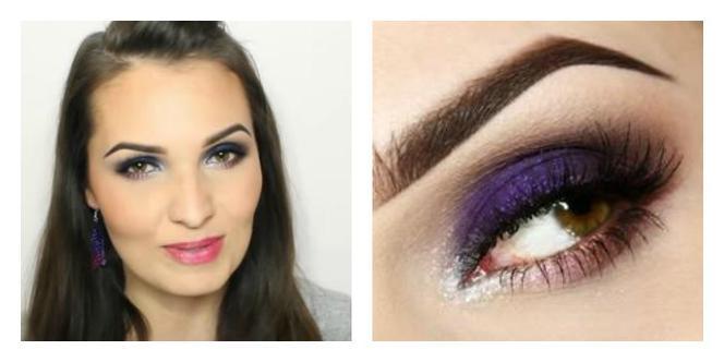 Makijaż Wieczorowy Dla Zielonych I Niebieskich Oczu Super Express