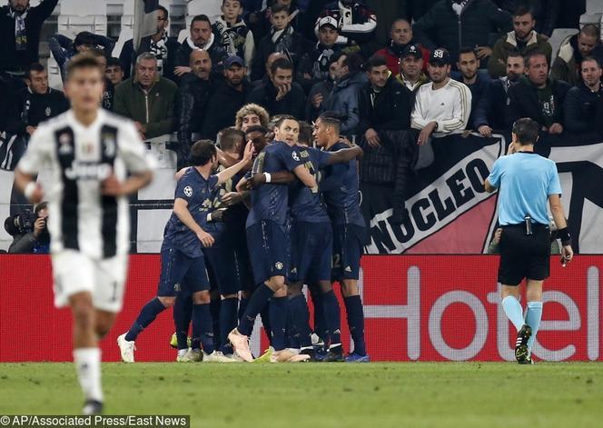 177fc20b0 Liga Mistrzów: Juventus Turyn - Manchester United 1:2 SKRÓT meczu ...