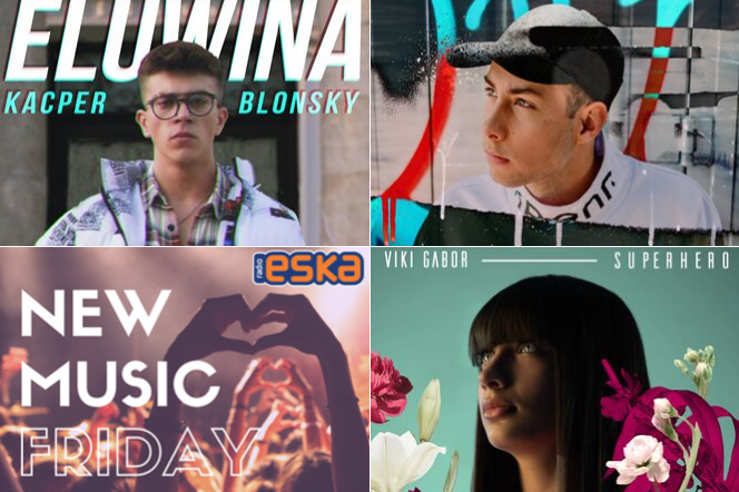 Kacper Blonsky, Viki Gabor, Niall Horan i inni w New Music Friday w Radiu ESKA!
