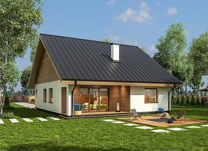 Domy Tanie W Budowie Koszt Budowy Małych I Tanich Domów