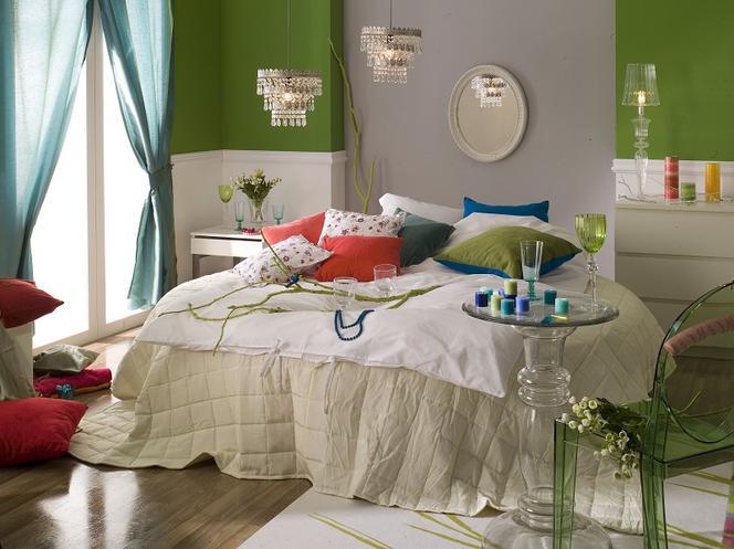 3 Pomysły Na Kolor W Sypialni Zielony Amarantowy Biały