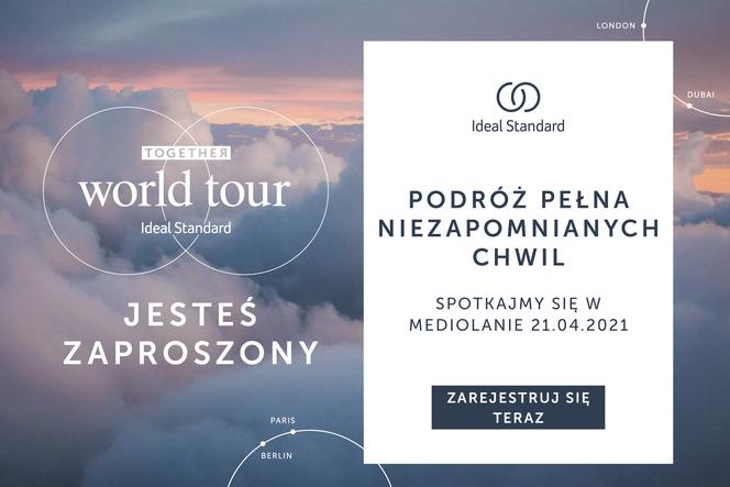 TOGETHER WORLD TOUR – interaktywne spotkania IDEAL STANDARD
